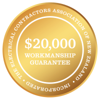 Guarantees provided by Jenco Electrical in Auckland